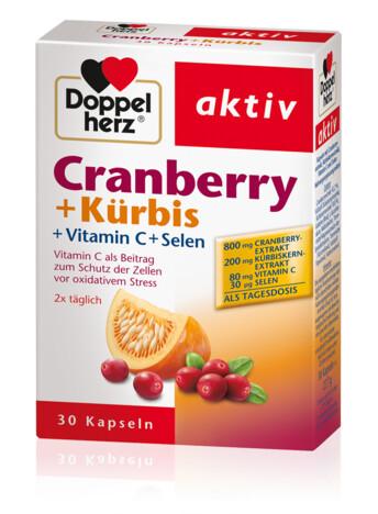 Doppelherz Jõhvikas + Kõrvits + C vitamiin + Seleen