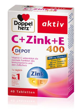Doppelherz C + Tsink + E depootabletid